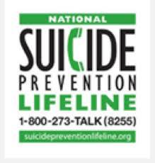 photo credit: National Suicide Prevention Lifeline